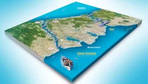 В Турции планируется строительство дублера Босфора