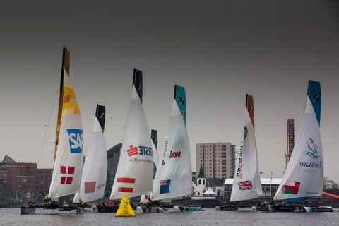 Санкт-Петербург примет четвертый этап парусных регат Extreme Sailing Series