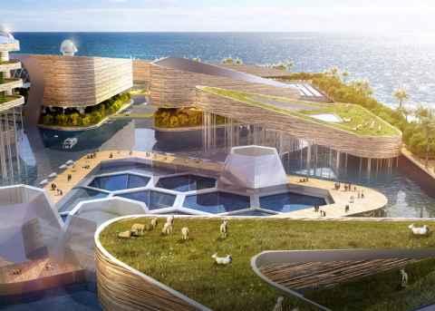 Город под водой будет построен в Китае