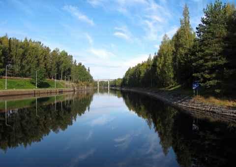 Идет строительство нового пункта пропуска для яхт в Брусничном