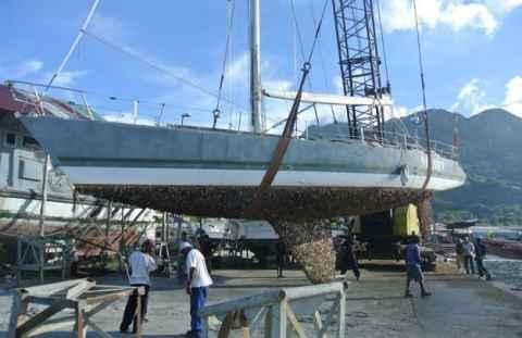 Знаменитая яхтсменка хочет восстановить яхту Maiden